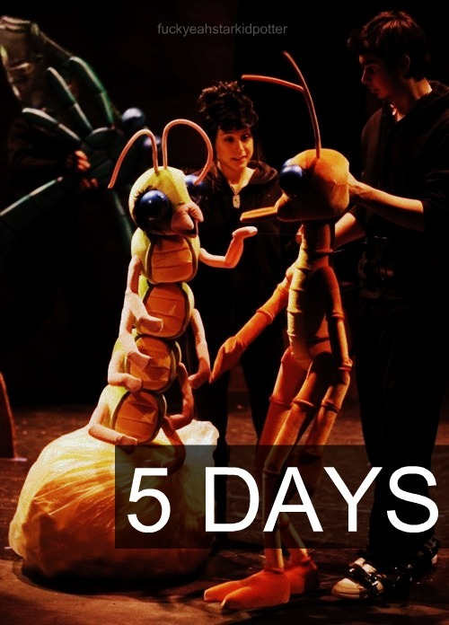 fuckyeahstarkidpotter:  5 Days until Starship is released!  HOORAY! CANNOT WAIT!! :) :) :)