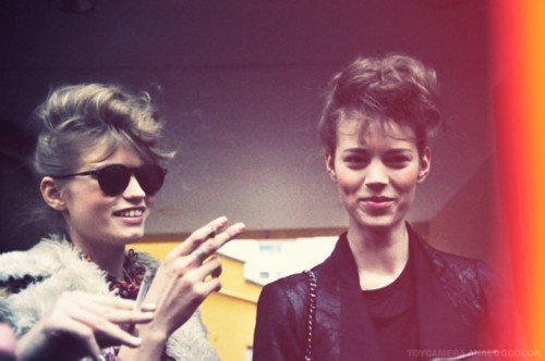 splitpeavintageblog:  Abbey and Freja