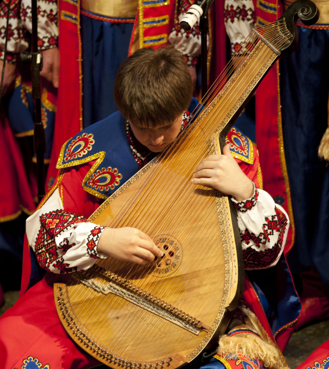 Ukrainian Bandura band from Toronto School of Visual Arts, Rochester, NY