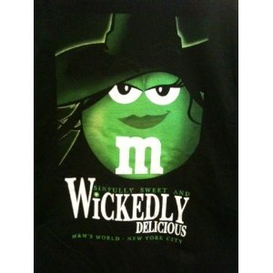 Amazon.com: M&M's Wickedly Delicious Black T-Shirt (MEN'S EXTRA LARGE): Everything Else