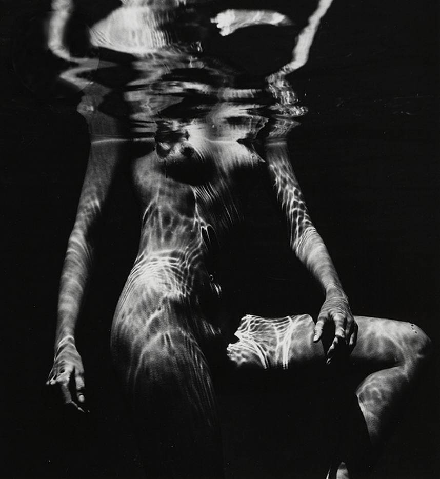 firsttimeuser:  Brett Weston. Underwater Nude, 1980