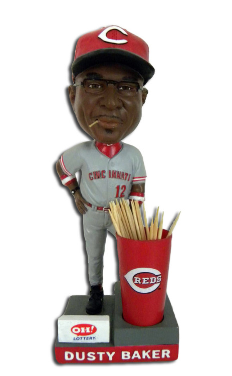 Dusty Baker Toothpick Bobblehead is AMAZING - @jose3030