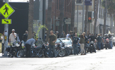 Venice Vintage Motorcycle Club meetup - April 2011