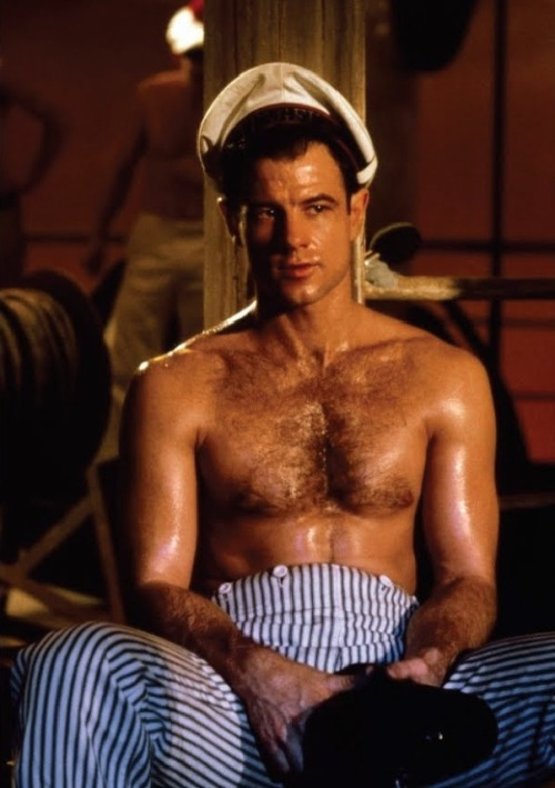 sweaty #BradDavis #querelle shot of the day