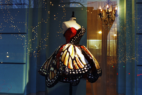 jetaime72love:  Butterfly Dress