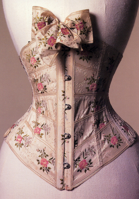 legiblelitter:  thelingerieaddict:  This corset just made me gasp aloud. stoertebaker:  1902 ribbon corset   ladies, if you love your man and he treats you right…invest and treat him right.  Shit, treat yourself, this is beautiful!