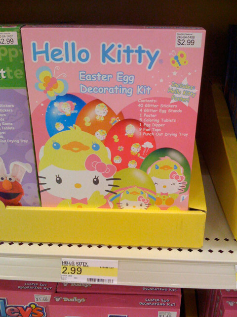 Hello Kitty Easter Egg Decorating Kit at Target