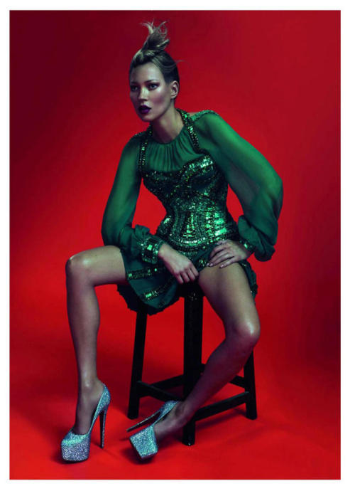 Kate Moss for Vogue Paris by Mert & Marcus (via Fashion Editorials)