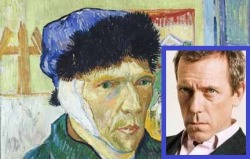 Hugh Laurie could play Vincent in a Van Gogh biopic. Am I right?