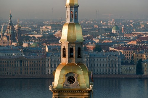 An amazing photo gallery of St. Petersburg from air: http://www.coolcrack.com/2010/12/flying-over-st-petersburg.html