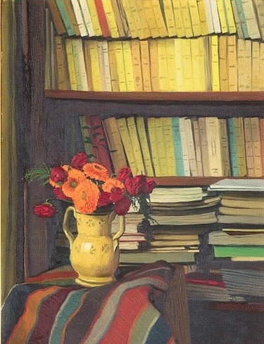Félix Vallotton  The Library 1921