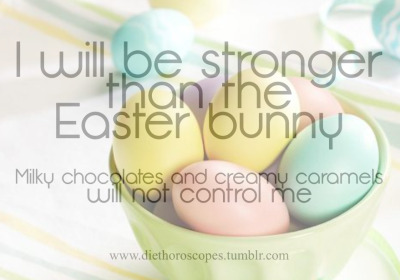diethoroscopes:  happy binge free and portion controlled easter <3