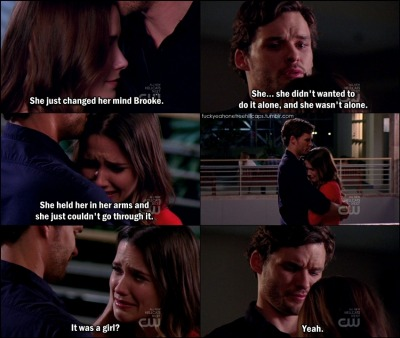 fuckyeahonetreehillcaps:  One Tree Hill 8x18 Quiet Little Voices