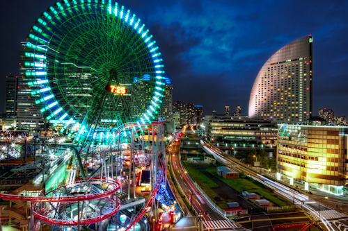 jcinspiration:  Minato Mirai at night! Yokohama has it all. The city pretty much as everything that Tokyo has to offer, and it is only a short JR ride from where I stayed during my study abroad program. Did you know that Minato Mirai is the most ideal place for girls' first date? It's true! Of the girls I surveyed at my University, majority voted Minato Mirai as the number one dating site! I thought that was interesting. Now, I can't remember what came in second, and third… But, if you happen to need ideas on where to bring your date, you know where to go ;)! You can treat me to drinks after! James Chanwww.jcinspiration.com