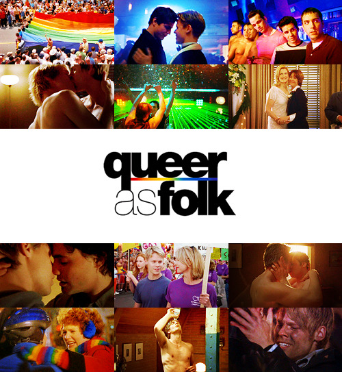 "TV Shows Challenge | 10 TV shows you love the most: Queer as Folk  ""They say men think about sex every 28 seconds. Of course, that's straight men. With gay men, it's every 9. You could be at the supermarket or the laundromat, or buying a fabulous shirt, when suddenly you find yourself checking out some hot guy. Hotter than the one you saw last weekend or went home with the night before, which explains why we're all at Babylon at 1:00 in the morning instead of at home in bed. But who wants to be at home in bed? Especially alone, when you could be here, knowing that at any moment you might see Him. The most beautiful man who ever lived. That is, until tomorrow night."""