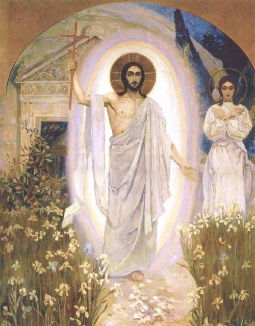 Mikhail Nesterov - The Resurrection of Christ, c. 1890