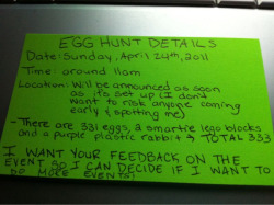 EGG HUNT DETAILS ! being held in St. Catharines, Ontario tomorrow !  I will post the exact location around 11 am ! Can't wait to hear from you :)
