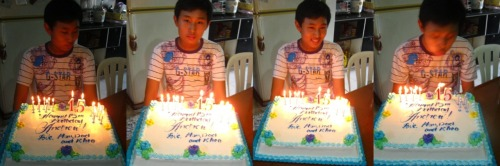 Happy Birthday, Drew! :) Always be a good kid. ;) Love, Ate Rhea. :))