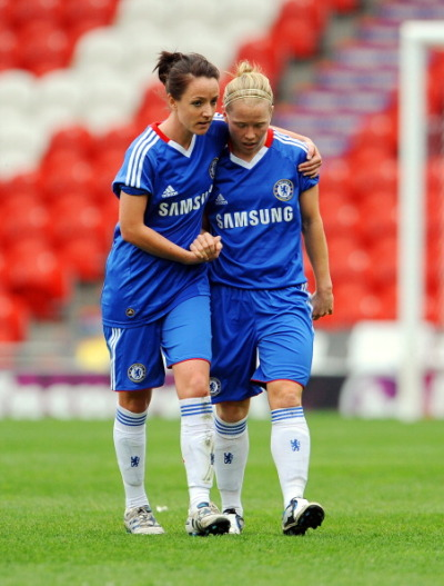 tfchelsea:  Chelsea Ladies won the first match for FAWSL