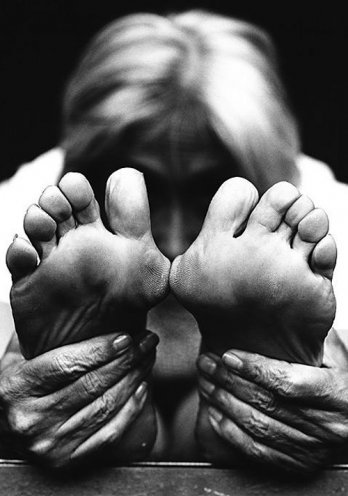 Twyla Tharp - definitive dancing feet (check out my tumblelog 'Dancing Feat') via danceaintelitist