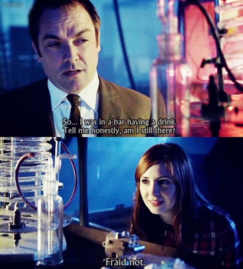 'Fraid not, Crowley Canton. [Doctor Who]
