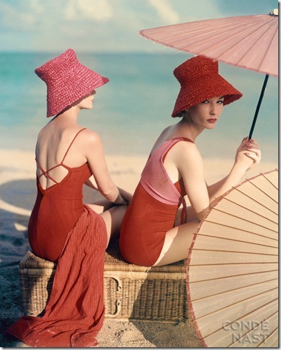 1963 Vogue shoot (photographer: Louise Dahl-Wolfe). Timeless and effortless beauty.