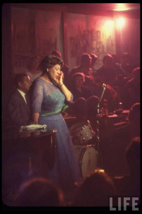 Ella Fitzgerald, born April 25, 1917
