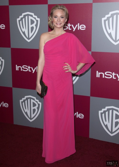 Candice Accola - InStyle/Warner Brothers Golden Globes Party - January 16, 2011