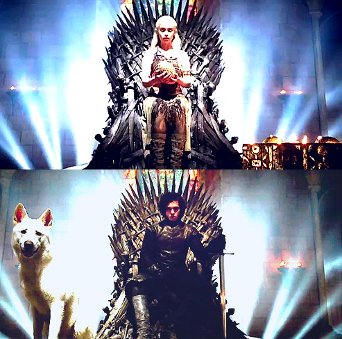 KING AND QUEEN OF THE SEVEN KINGDOMS