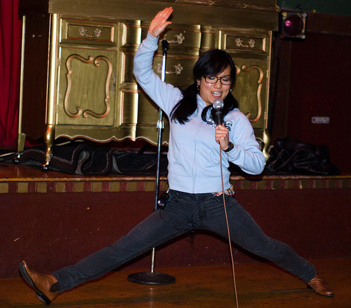 Ali Wong by. Brien Wankel @ The Romane Event circa 2008