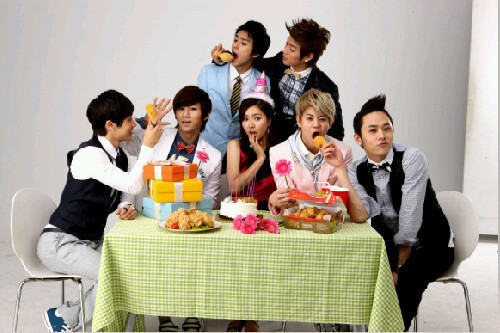 B2ST Chicken CF with Shin Se Kyung