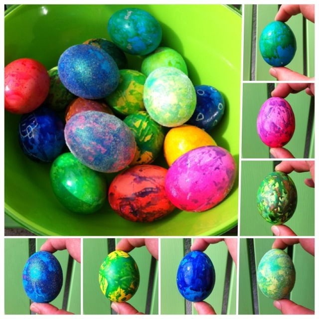 Happy Easter Everyone We had so much fun dying eggs this year