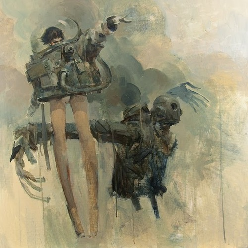 gaksdesigns:  Robot girl by Ashley Wood