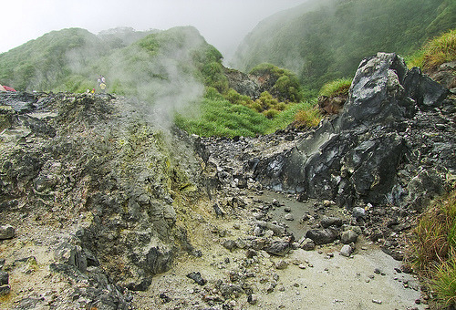 whirlpooll:  小油坑 The Sulfur Smoke in Little Oil Pit (by light917)