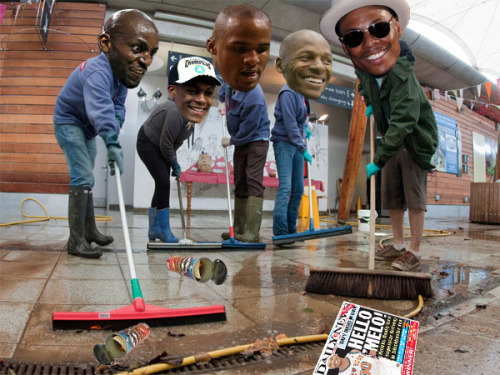 nbaoffseason:  Spring cleaning at MSG.  supercoolzs:  And the Celtics sweep the Knicks,