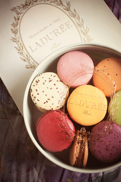 kparlovestotravel:  Macarons from Laduree, Paris