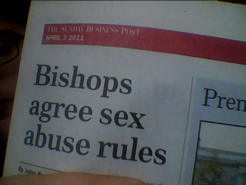 Well, if the bishop says it's okay…