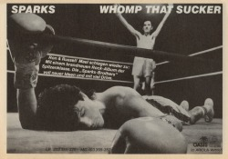 "Ad for ""Whomp That Sucker"" (1981)."