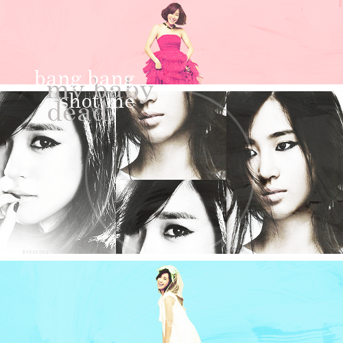 Top 10 Kpop Pairings | 04 | Yuri/Tiffany (SNSD) Can you tell me that you love me?Can you embrace me and laugh together?