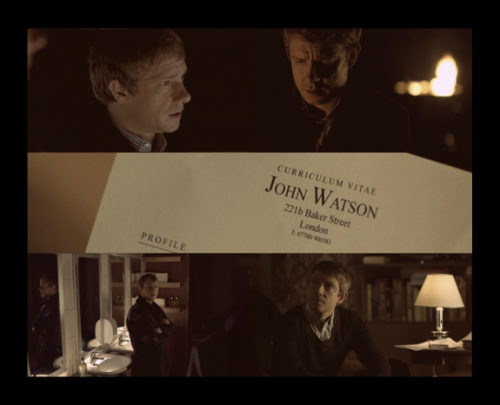 "Dr. John Watson.  ""I am bound to say that in all the accounts which you have been so good as to give of my own small achievements you have habitually underrated your own abilities. It may be that you are not yourself luminous, but you are a conductor of light. Some people without possessing genius have a remarkable power of stimulating it. I confess, my dear fellow, that I am very much in your debt.""- Sherlock Holmes to John Watson, The Hound of the Baskervilles."