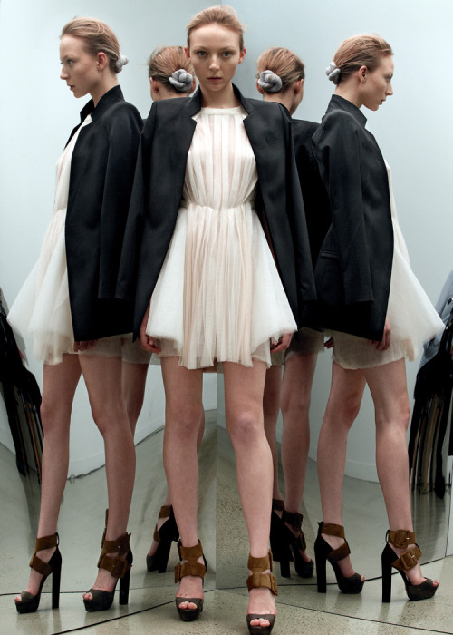 Just found out about Dion Lee from Sydney. This Pleated Tulle Ballerina Dress is something else. LOVE it.
