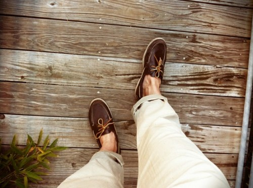 men in boat shoes = faf. and gorg.