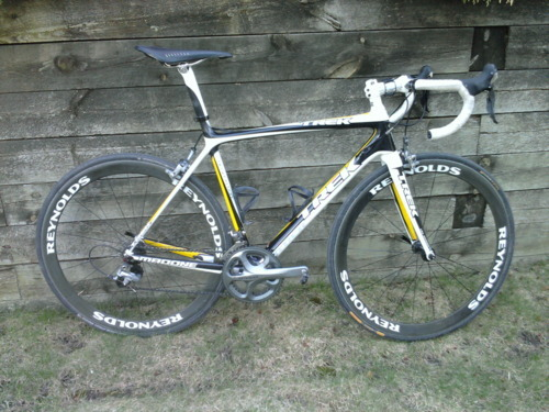 Madone with Reynolds wheels