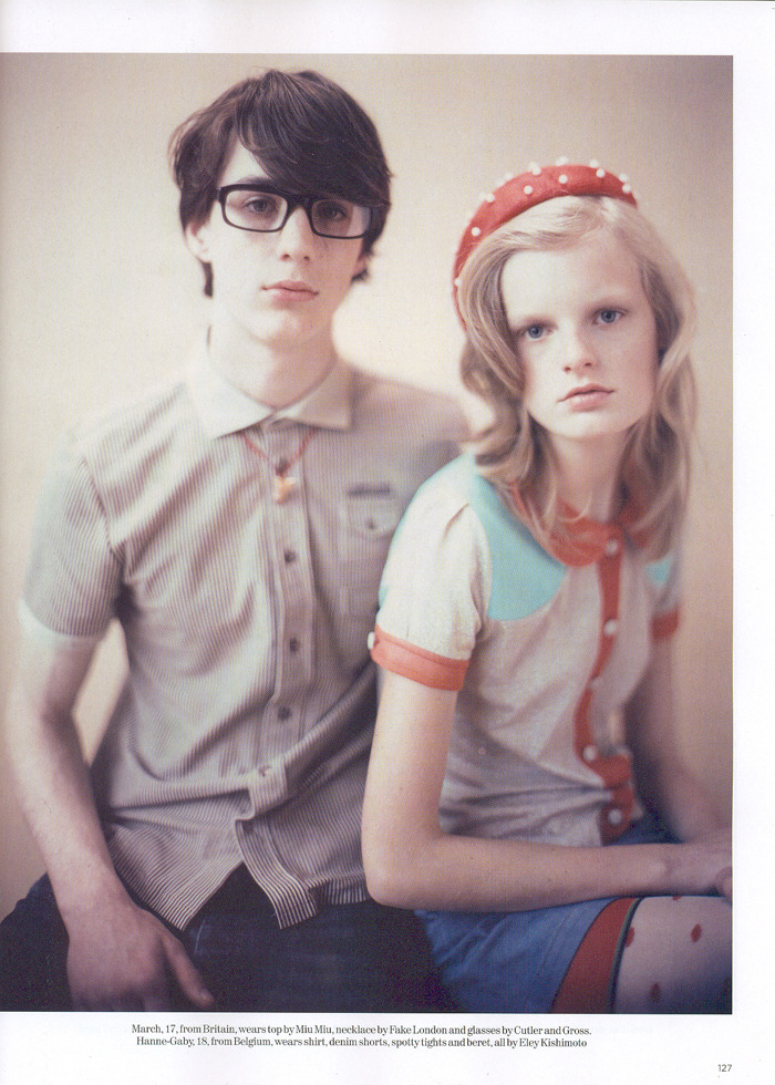 photographed by Paolo Roversi - Vogue UK: January 2006 - Class of 2006
