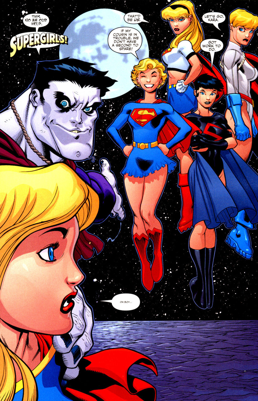 Bizarro and the Supergirls by Ed Mcguinnes