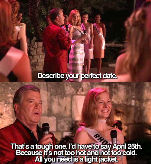 I have been waiting all year to post this.