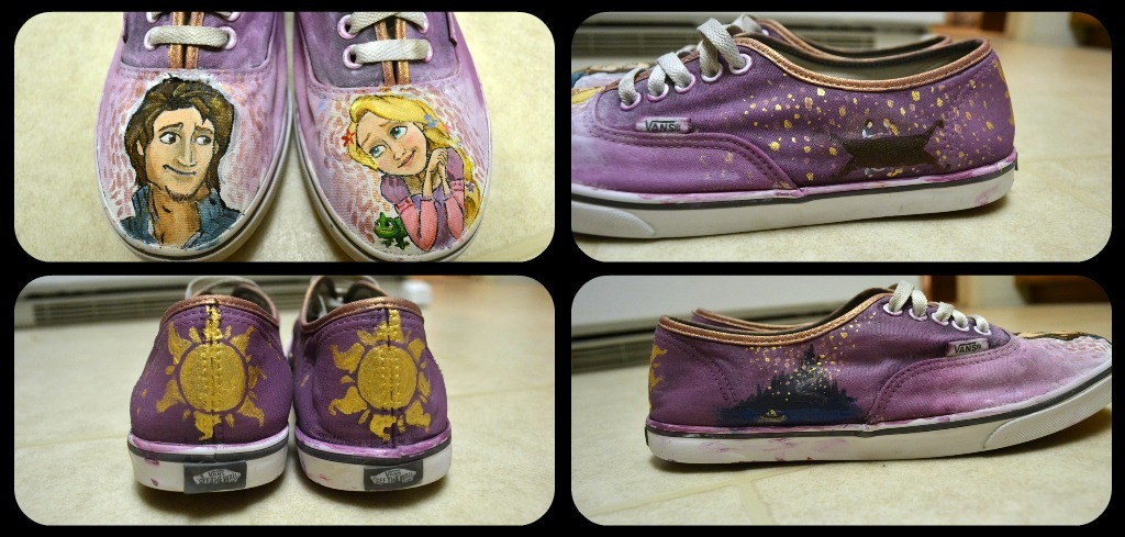 Tangled Vans II Approx. Price: $50-55