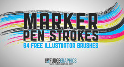 la-designer:   80 Free Illustrator Brush Sets compiled by Noupe. Have fun :)  I know what I'm doing this afternoon…
