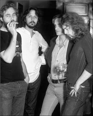 Michael William Kaluta, Jeffrey Jones, Bernie Wrightson and Barry Windsor-Smith :: The Studio :: via muddycolors.blogspot.com