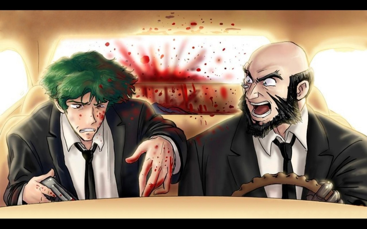 Pulp fiction + Cowboy bebop
